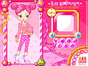 Play Sues dating dress up Game