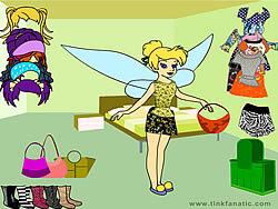 Gioca gratuitamente a Tinkerbell Dress up 2