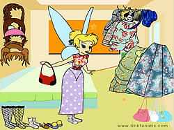 Gioca gratuitamente a Tinkerbell Dress up 5