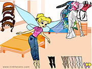 Play Tinkerbell dress up 7 Game