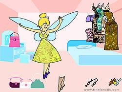 Jogar jogo grátis Tinkerbell Dress up 8