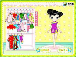 Gioca gratuitamente a Cute Little Dresses