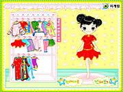 Cute little dresses Spiele