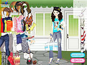 Play Funky girl fashion Game