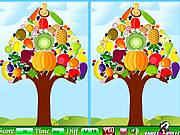 Vegetable Tree Difference game