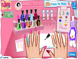 Flava Manicure Game oyunu