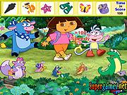 Dora the Explorer Hidden Objects game