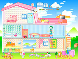 Barbie House game