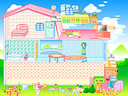 Play Barbie house Game