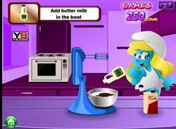 Smurfette Cake game