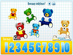 Kids Counting Teddy Bears game