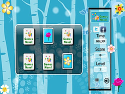 Flowers Memory Match Game game