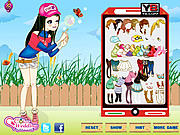 Fun Bubble Girl Dressup game
