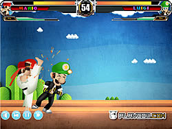Mario Street Fight Game game