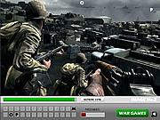 Hidden Letters In War Zone game