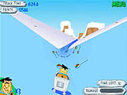 Play Bedrock bobsleddin blowout Game