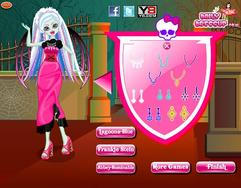 Monster Angel Dress Up game