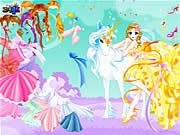 Play Dress up fairy Game