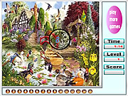 Garden Animals Hidden Numbers game