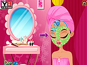 Supermodel Facial Makeover game
