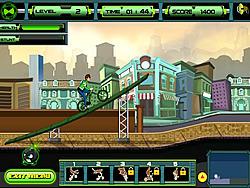 Ben 10 Super Stunt BMX game