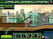 Ben 10 Super Stunt BMX game