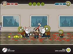 Jogar jogo grátis Nerd vs Zombies 2