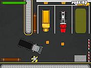 Último aparcamiento de camiones