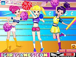Spielen Sie das Gratis-Spiel  Pretty Cheerful Cheerleaders