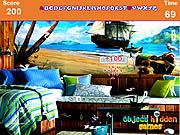 Pirate Captain Room Hidden Alphabets game