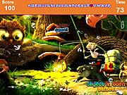 Jogar jogo grátis Cartoon Forest Hidden Alphabets