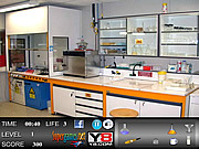 Chemistry Lab Hidden Objects game