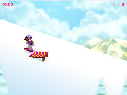 Gioca gratuitamente a Snow Board Betty