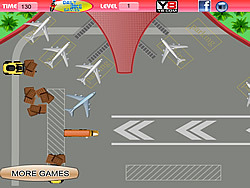Arrival Plane Parking game