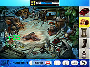 Sea creatures. Find objects game