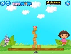 Dora Build Blocks game