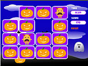 Spooky Creatures Memory Game game