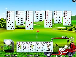 Joker Golf Solitaire game
