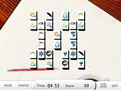 London Mahjong game