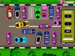 Simpsons Car Parking game