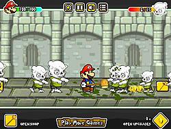 Spielen Sie das Gratis-Spiel  Mario Zombie Rampage