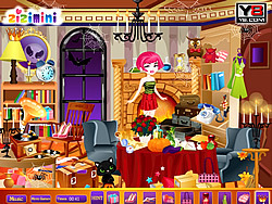 Babi Halloween Hidden Game game