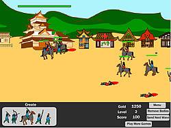 Gioca gratuitamente a Samurai Defense