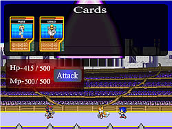 Sonic Test Run game
