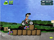 Crazy Tarzan Bike game