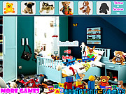 Kids Plush Toy Hidden Objects game