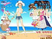 Beach Dress up game