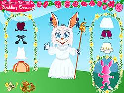 Gioca gratuitamente a Madison Rabbit: Wedding Dress up