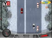 Play Winter death race game Game