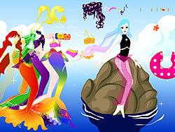 मुफ्त खेल खेलें Mermaid Dress up